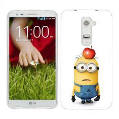 Husa LG G2 Mini Silicon Gel Tpu Model Minions - Husa Telefon