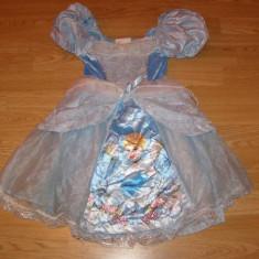 Costum carnaval serbare cenusareasa pentru copii de 4-5-6 ani - Costum Halloween, Marime: Masura unica, Culoare: Din imagine