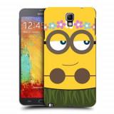 Husa Samsung Galaxy Note 3 Neo N7505 Silicon Gel Tpu Model Minion Girl