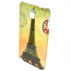 Husa Samsung Galaxy Note 3 N9000 Slim Plastic Model Eiffel Tower