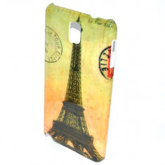 Husa Samsung Galaxy Note 3 N9000 Slim Plastic Model Eiffel Tower - Husa Telefon