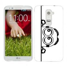 Husa LG G2 Mini Silicon Gel Tpu Model Lay Low Minion B&W - Husa Telefon