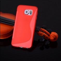 Husa Samsung Galaxy S6 Edge G925 Silicon Gel Tpu S-Line Rosie - Husa Telefon