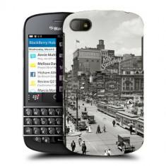 Husa BlackBerry Q10 Silicon Gel Tpu Model Vintage City - Husa Telefon