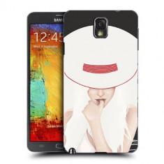 Husa Samsung Galaxy Note 3 N9000 N9005 Silicon Gel Tpu Model Abstract Women V13 - Husa Telefon