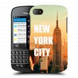 Husa BlackBerry Q10 Silicon Gel Tpu Model New York