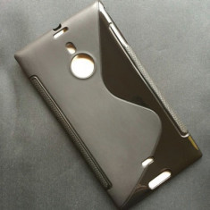 Husa Nokia Lumia 1520 Silicon Gel Tpu S-Line Neagra
