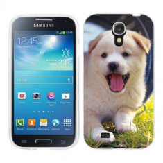 Husa Samsung Galaxy S4 i9500 i9505 Silicon Gel Tpu Model Sweet Puppies - Husa Telefon