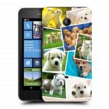 Husa Nokia Lumia 635 630 Silicon Gel Tpu Model Puppies Collage