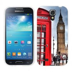 Husa Samsung Galaxy S4 i9500 i9505 Silicon Gel Tpu Model London - Husa Telefon