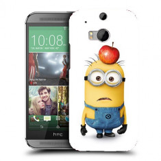 Husa HTC One M8 Silicon Gel Tpu Model Minions