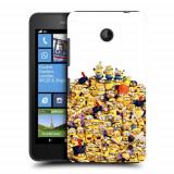 Husa Nokia Lumia 635 630 Silicon Gel Tpu Model 100 Minions