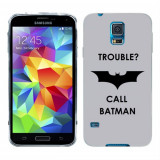 Husa Samsung Galaxy S5 G900 G901 Plus G903 Neo Silicon Gel Tpu Model Batman