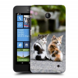 Husa Nokia Lumia 635 630 Silicon Gel Tpu Model Kitties