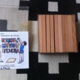 Cuburi betisoare placa lemn set cunoastere prin joc logica educativ pentru copii