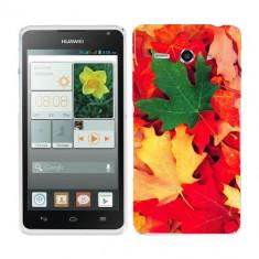 Husa Huawei Ascend Y530 Silicon Gel Tpu Model Autumn Leaves - Husa Telefon