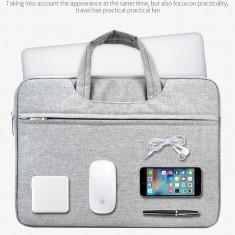 Geanta Portabila Laptop ASUS/Lenovo/Macbook Air/Pro 11/13/15inch Gri Neagra Roz, Nailon