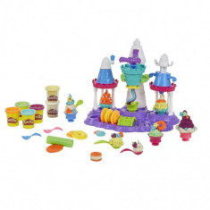 Plastilina Play-Doh - Castelul de Inghetata - Figurina Povesti Hasbro
