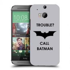 Husa HTC One M8 Silicon Gel Tpu Model Batman