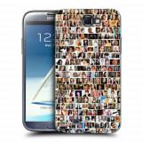 Husa Samsung Galaxy Note 2 N7100 Silicon Gel Tpu Model Small Portraits