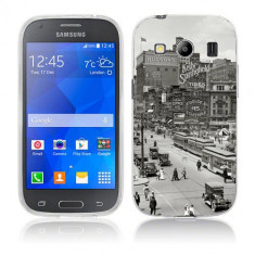 Husa Samsung Galaxy Ace 4 G357 Silicon Gel Tpu Model Vintage City - Husa Telefon