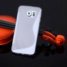 Husa Samsung Galaxy S6 Edge G925 Silicon Gel Tpu S-Line Gri - Husa Telefon