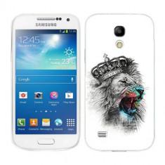 Husa Samsung Galaxy S4 Mini i9190 i9195 Silicon Gel Tpu Model The King - Husa Telefon