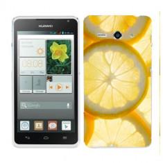 Husa Huawei Ascend Y530 Silicon Gel Tpu Model Lemons - Husa Telefon