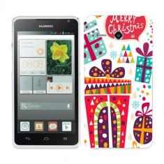 Husa Huawei Ascend Y530 Silicon Gel Tpu Model Craciun Christmas V1 - Husa Telefon