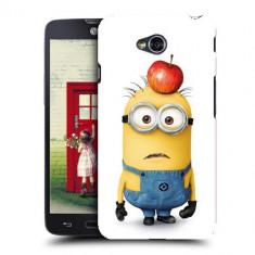 Husa LG L70 Silicon Gel Tpu Model Minions - Husa Telefon