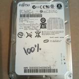 Hard Disk / HDD SATA FUJITSU 40GB 100% HEALTH Laptop - HDD laptop Fujitsu, 41-80 GB, Rotatii: 5400