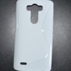 Husa Silicon Gel LG G3 S-Line Alba D850 - Husa Telefon