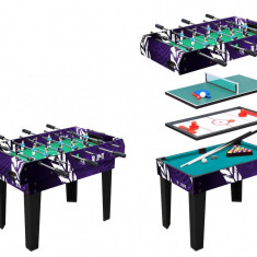 Masa de joc WORKER 4 in 1 - Foosball