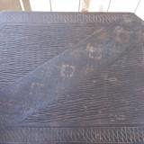 Set de lemn, 2 piese, stil neobrancovenesc,