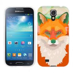 Husa Samsung Galaxy S4 i9500 i9505 Silicon Gel Tpu Model Desen Vulpe - Husa Telefon