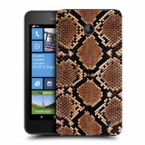 Husa Nokia Lumia 635 630 Silicon Gel Tpu Model Animal Print Snake - Husa Telefon