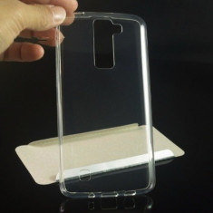 Husa LG K8 Super Slim 0.5mm Silicon Gel TPU Transparenta