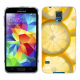 Husa Samsung Galaxy S5 G900 G901 Plus G903 Neo Silicon Gel Tpu Model Lemons