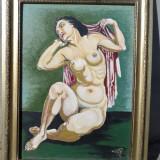 Tablou ulei pe placaj Nud 1 - Tablou autor neidentificat, Altul