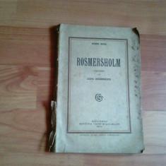 ROSMERSHOLM-HENRIK IBSEN - Carte Teatru
