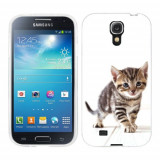 Husa Samsung Galaxy S4 i9500 i9505 Silicon Gel Tpu Model Pisicuta