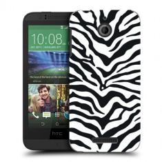 Husa HTC Desire 510 Silicon Gel Tpu Model Animal Print Zebra - Husa Telefon