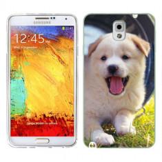 Husa Samsung Galaxy Note 3 N9000 N9005 Silicon Gel Tpu Model Sweet Puppies - Husa Telefon
