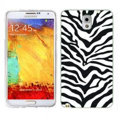 Husa Samsung Galaxy Note 3 N9000 N9005 Silicon Gel Tpu Model Animal Print Zebra - Husa Telefon