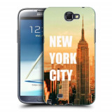 Husa Samsung Galaxy Note 2 N7100 Silicon Gel Tpu Model New York