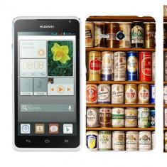 Husa Huawei Ascend Y530 Silicon Gel Tpu Model Beer Cans - Husa Telefon