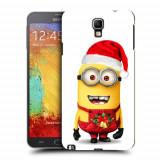 Husa Samsung Galaxy Note 3 Neo N7505 Silicon Gel Tpu Model Craciun Minion Christmas