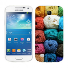 Husa Samsung Galaxy S4 Mini i9190 i9195 Silicon Gel Tpu Model Ghem Ata Colorata - Husa Telefon