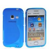 Husa Samsung S6802 Galaxy Ace Duos Silicon Gel Tpu S-Line Albastra - Husa Telefon