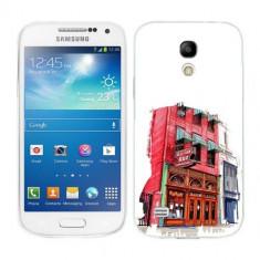Husa Samsung Galaxy S4 Mini i9190 i9195 Silicon Gel Tpu Model Old Town Bar